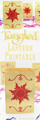 now you ll see the light with this tangled lantern printable includes two sizes