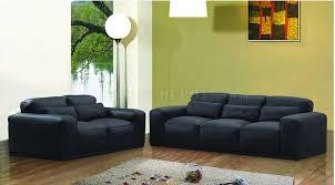 Modern Living Room Furniture Set Modern Style Black Leather Living Room Furniture Sets
