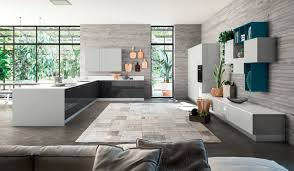 modern italian contemporary furniture design. 54 Most First-rate Awesome Lyons Italian Modern Contemporary Kitchen Furniture White Anthracite Flair Design