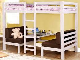 Futon Mattress of Full Size Loft Bed with Futon