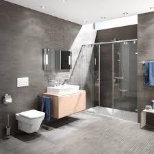Badezimmer Beige Grau Wei Wohndesign