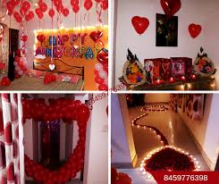 romantic room decoration for