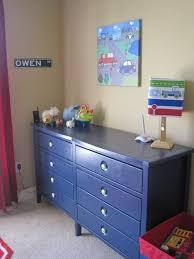 Navy Blue Dresser Bedroom Furniture Toddler Boys Bedroom With Recangle Blue Polished Metal Chest Of