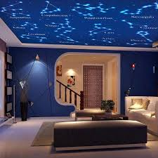 beibehang custom large mural wallpaper villa ceiling living room bedroom background wall paper 12 constellations 3d wallpaper
