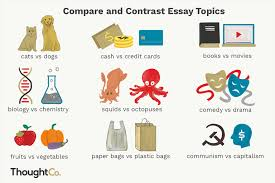 Compare And Contrast Essay On Two Friends 101 Compare And Contrast Essay Ideas For Students