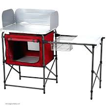 portable camp kitchen sink outdoor camping with luxury folding table fresh ideas