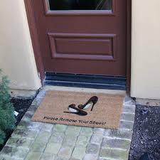 Doormat please remove shoes doormat images : Amazon.com: Rubber-Cal