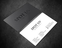 Entry 25 By Aminur33 For Design Some Spot Uv Business Cards