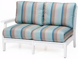 Back Home Furniture Stunning Berlin Gardens Classic Terrace Right Arm Sectional Loveseat Fabric