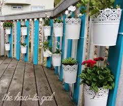 the how to gal diy vertical herb garden