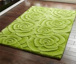 red green beige grey modern luxury wool rug