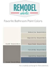 colors to paint bathroomRemodelaholic  Tips and Tricks for Choosing Bathroom Paint Colors