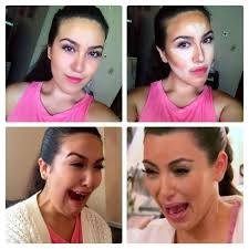 crying kim k makeup tutorial