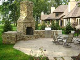 backyard fireplace and grill outdoor with oven plans gas outdoor fireplace cost estimate ideas and grill