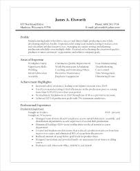 Production Resumes Construction Supervisor Resumes Download Resume Examples Production