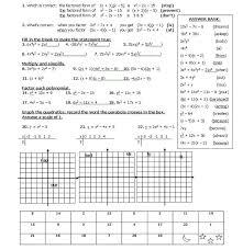 quadratics review bmp 807 831