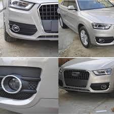 Audi Q3 Fog Lights How To Turn On 2pcs Chrome Rear Fog Lamp Lights Cover Trim Fit For Audi Q3