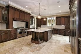 Kitchen Dark Cabinets With Light Countertops Espresso Walnut Door Cabinet  Wall Brown And .
