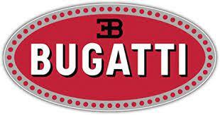 Bugatti logo logo in vector formats (.eps,.svg,.ai,.pdf). Amazon Com Bugatti Logo Sticker Car Bumper Decal 6 X 3 Home Kitchen