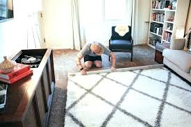 putting a rug on carpet area rug on top of carpet area rug over carpet in