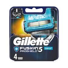 <b>кассеты</b> сменные <b>Fusion Proshield</b> Chill, Gillette, 4 шт., Германия ...