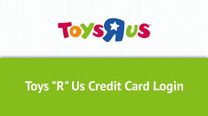 toys r us credit card login in 2018