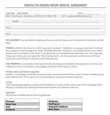 Using a rental agreement can let the tenants protect their rights especially when it you have to be particular with your rental agreement format as this can affect the discussion flow that you will come up with. Free Room Rental Agreement Templates Forms Word Pdf