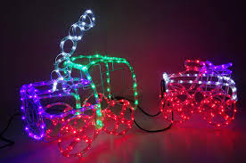 Christmas Outdoor Rope Light 3d Train Christmas Concepts 100cm Multi Coloured 3d Led Static Rope