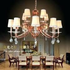 gold chandelier light luxury ho living room red rose plating restaurants bedroom lamp lighting luxu