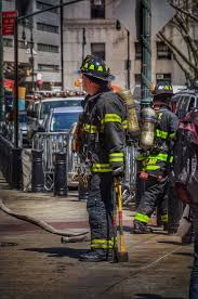 fdny oil painting canvas firefighter by reburndesigns on