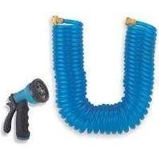 coil garden hose. NEW MINTCRAFT 7960057 50 FOOT SELF COIL GARDEN WATER HOSE WITH NOZZLE SALE Coil Garden Hose