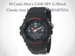 top 10 casio watches reviews best g shock black watches for men 2014 12 8 casio men s
