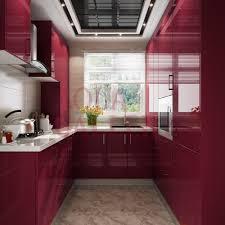aluminium kitchen cabinet.