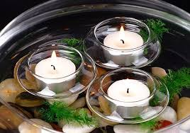 Amazon.com: Candles4Less - Floating Tea Light Candle Holders (1 Dozen):  Home & Kitchen