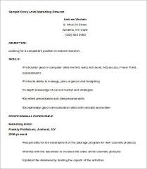 Entry Level Resume Template Word Best 28 Entry Level Resume Templates PDF DOC Free Premium Templates