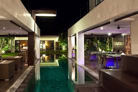 balinese house plans with warm colors style and