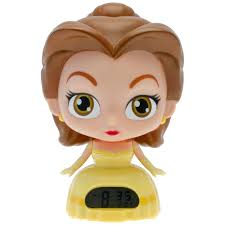 Disney Princess Magical Light Up Alarm Clock Bulbbotz Disney Princess Belle 7 5 In Light Up Alarm Clock
