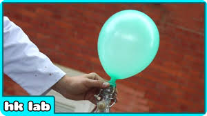 Look At This Balloon Now Look How I Make It Float In Air Without Helium Hooplakidzlab