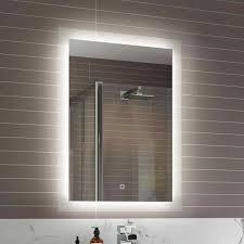 Image Modern Bathroom Mirrors Breakpr Bathroom Mirrors With Lights Behind Creative Led Lights