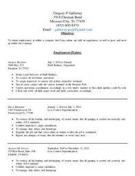 Resume Builder Jobing Gregory P Costello Resume