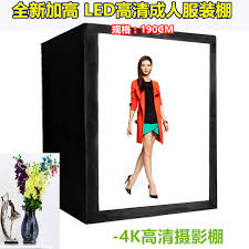 190cm 10led clothing portrait professional high softbo photography studio studio light continuous lighting kit light cd50