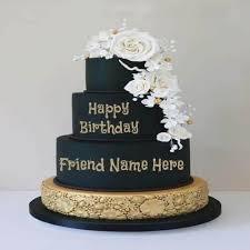 Happy Birthday Cake With Name Editor Online Amazingbirthdaycakecf