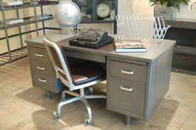 vintage metal office furniture. Plain Metal View In Gallery With Vintage Metal Office Furniture I