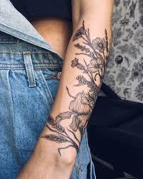 пин от пользователя леся дорофеева на доске тату цветы татуировки
