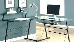 glass desk with drawers s cool glass desk where to covers tempered mat with drawers glass desk with drawers