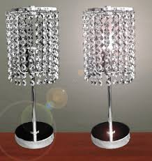 bedside table lamp crystal