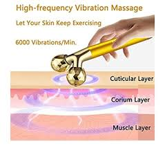 2-IN-1 <b>Beauty Bar 24k Golden</b> Pulse Facial Face Massager in 2020 ...