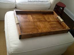 storage ottoman coffee table with trays