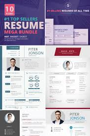 Best Resume Websites Top Selling Resume Cv 10 Templates Bundle Beauty Websites