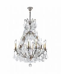 knightsbridge crystal ceiling light cry208abz